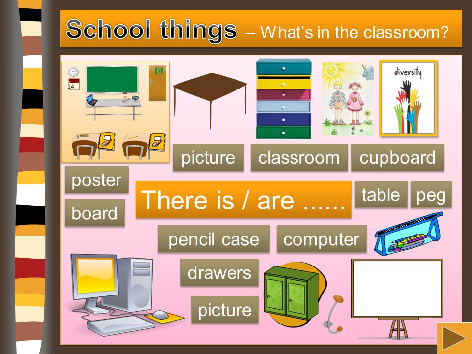 School things – What's in the classroom