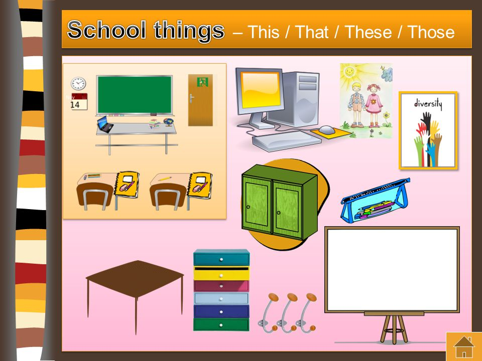 School things – This / That / These / Those