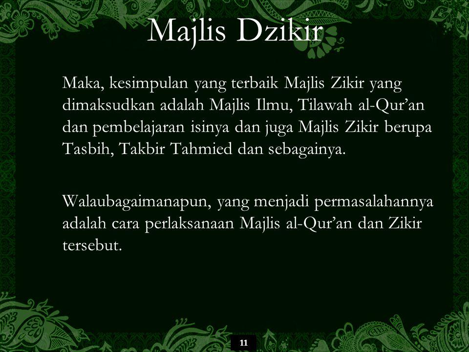 Majlis Dzikir