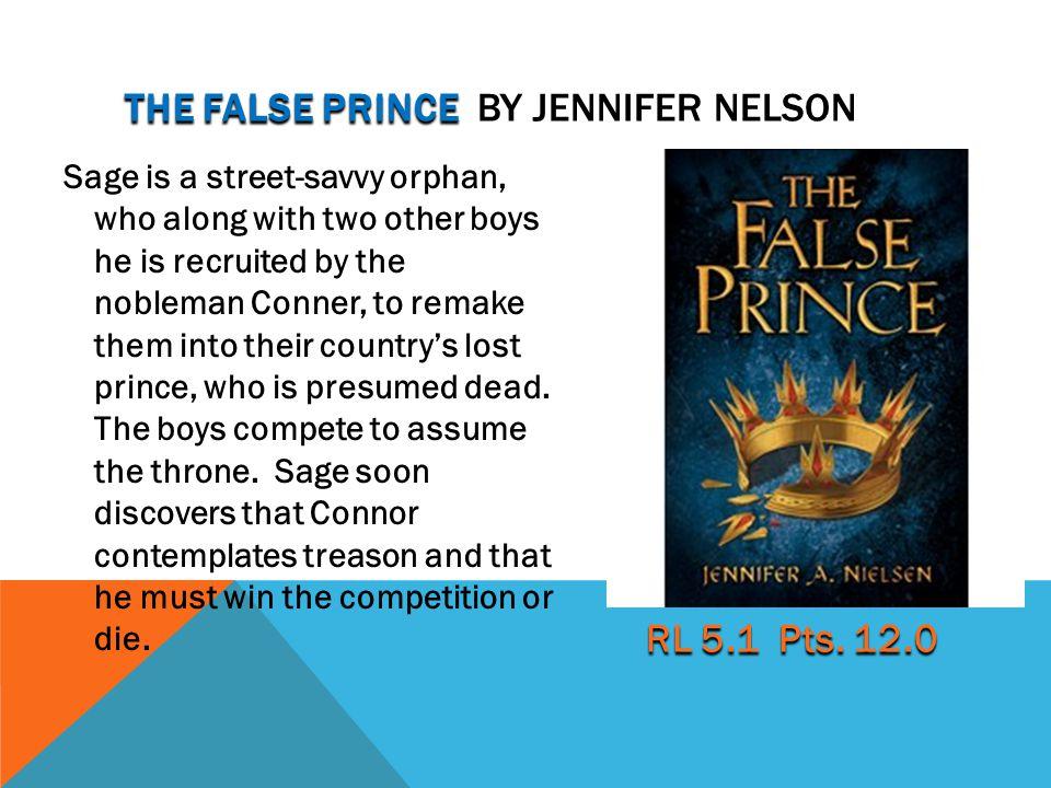the false Prince by Jennifer Nelson