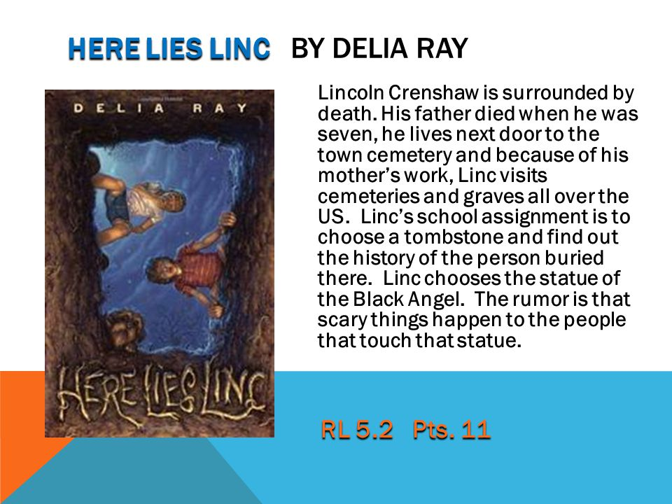 here lies linc by Delia Ray