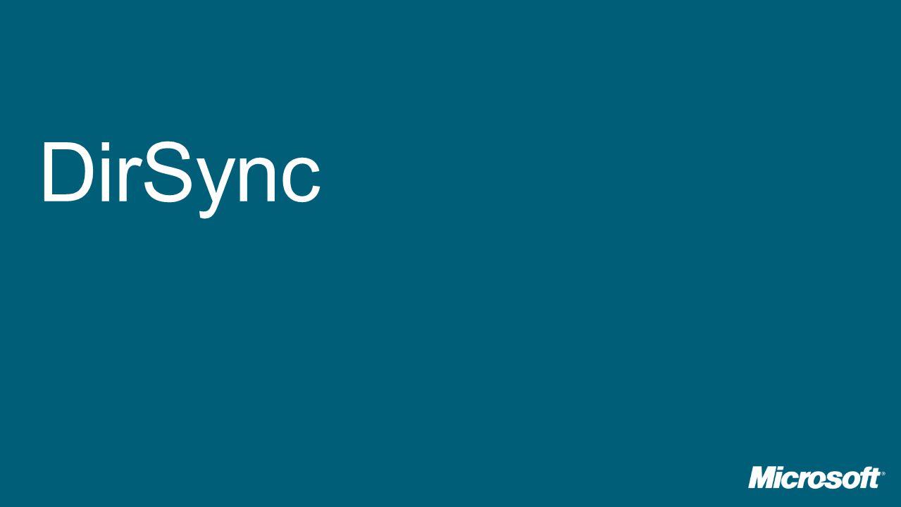 DirSync