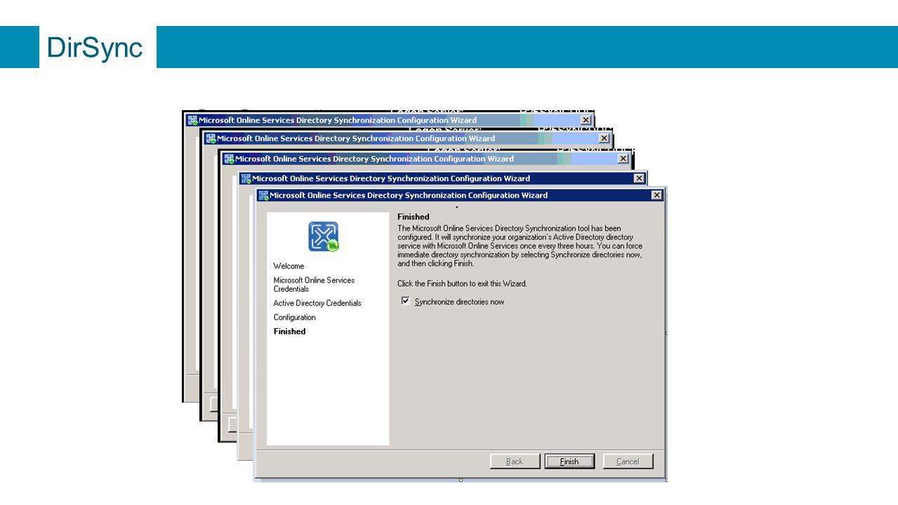 DirSync Configuração wwwwwwwwww