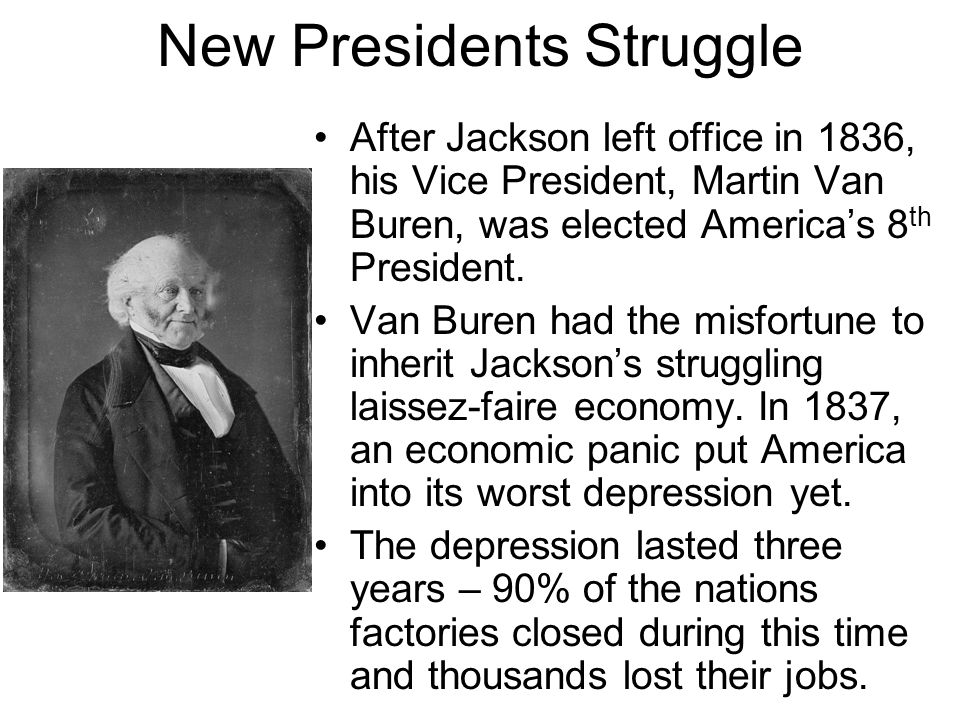 New Presidents Struggle