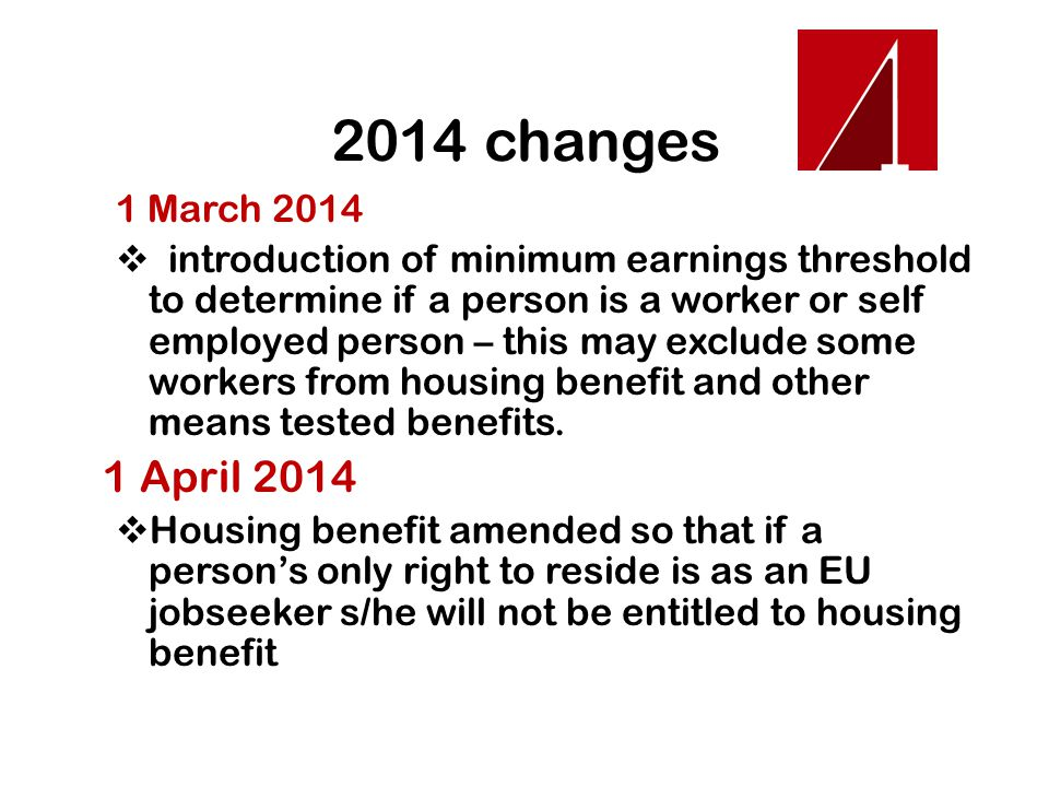 2014 changes 1 March 2014.