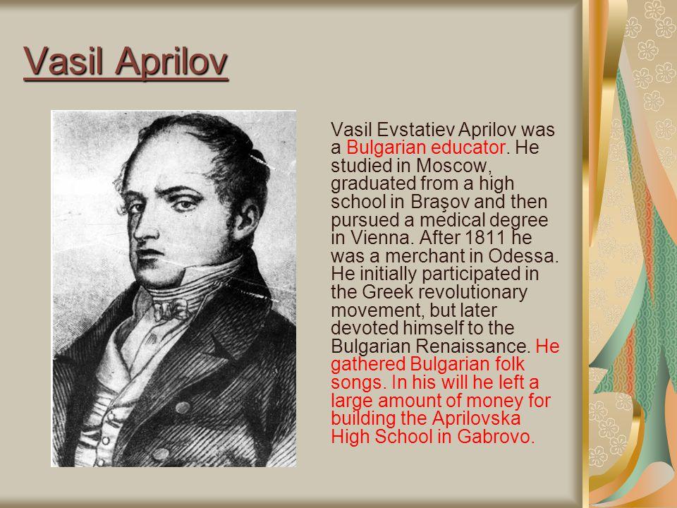 Vasil Aprilov