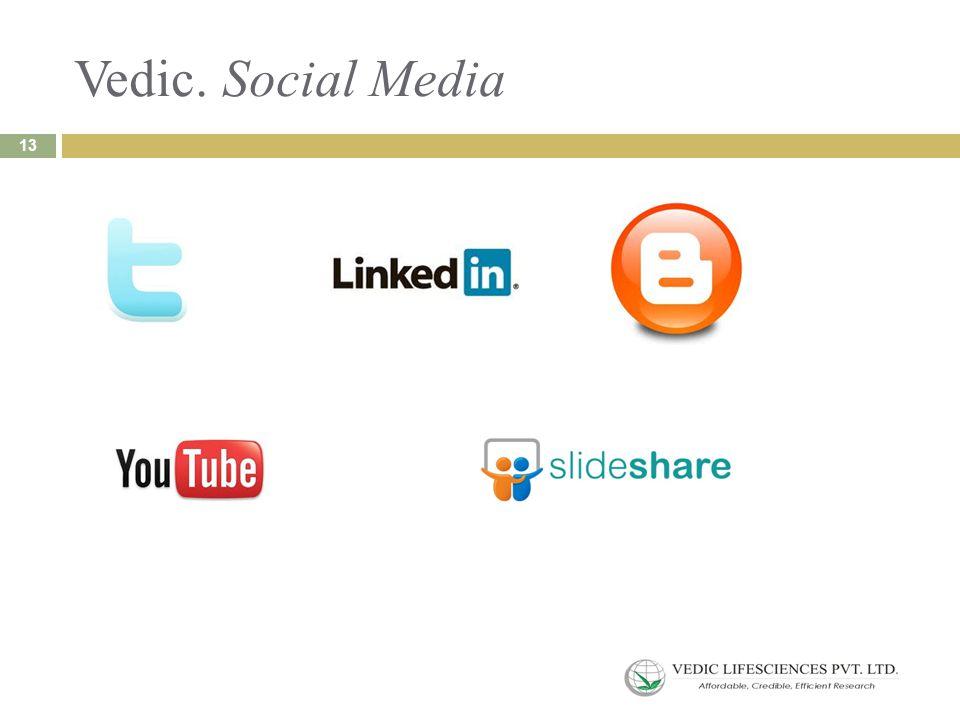 Vedic. Social Media