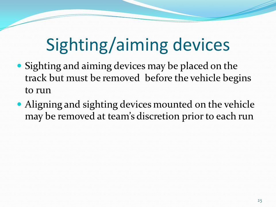 Sighting/aiming devices