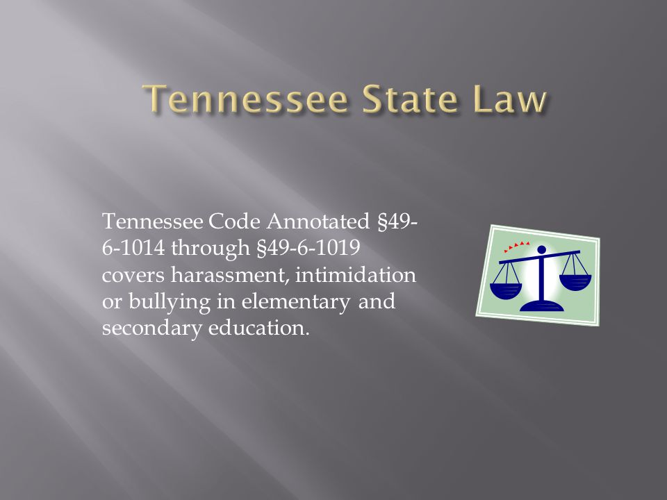 Tennessee State Law