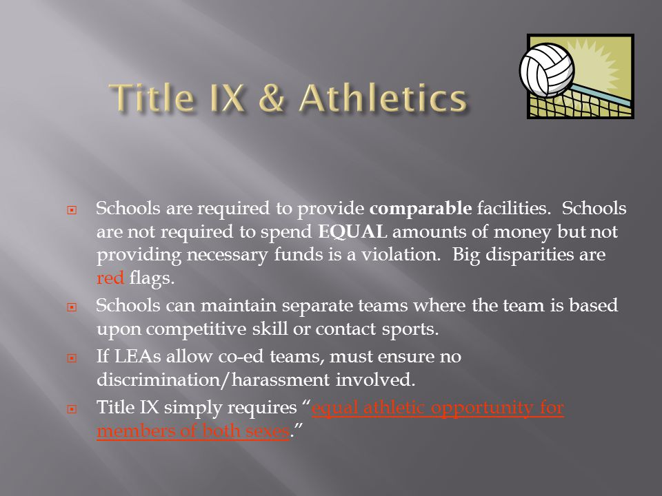 Title IX & Athletics