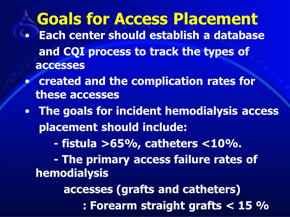 Goals for Access Placement