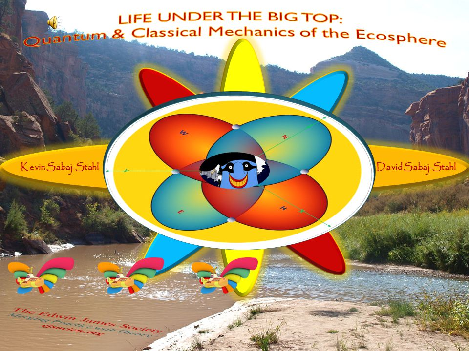 LIFE UNDER THE BIG TOP: Quantum & Classical Mechanics of the Ecosphere