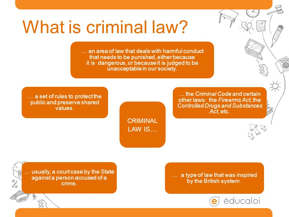 What is criminal law criminal law is...