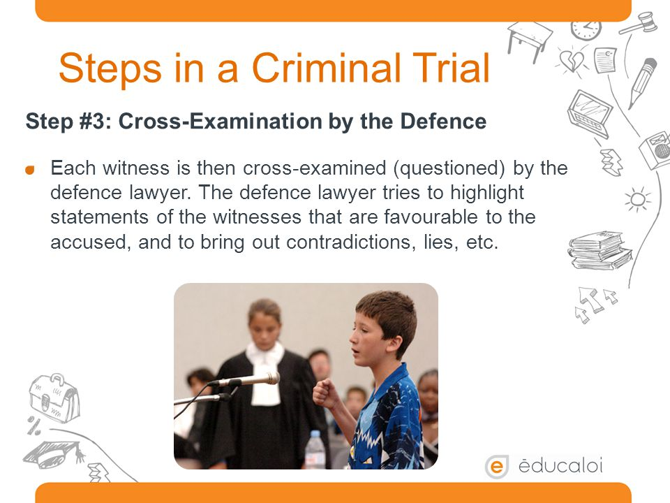 Steps in a Criminal Trial