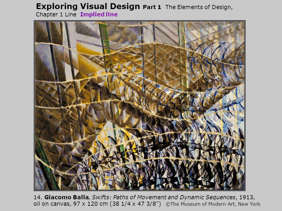 Exploring Visual Design Part 1 The Elements of Design, Chapter 1 Line Implied line