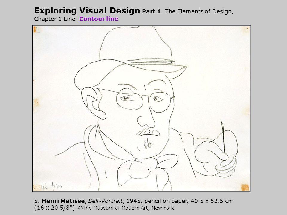 Exploring Visual Design Part 1 The Elements of Design, Chapter 1 Line Contour line
