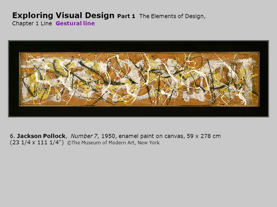 Exploring Visual Design Part 1 The Elements of Design, Chapter 1 Line Gestural line