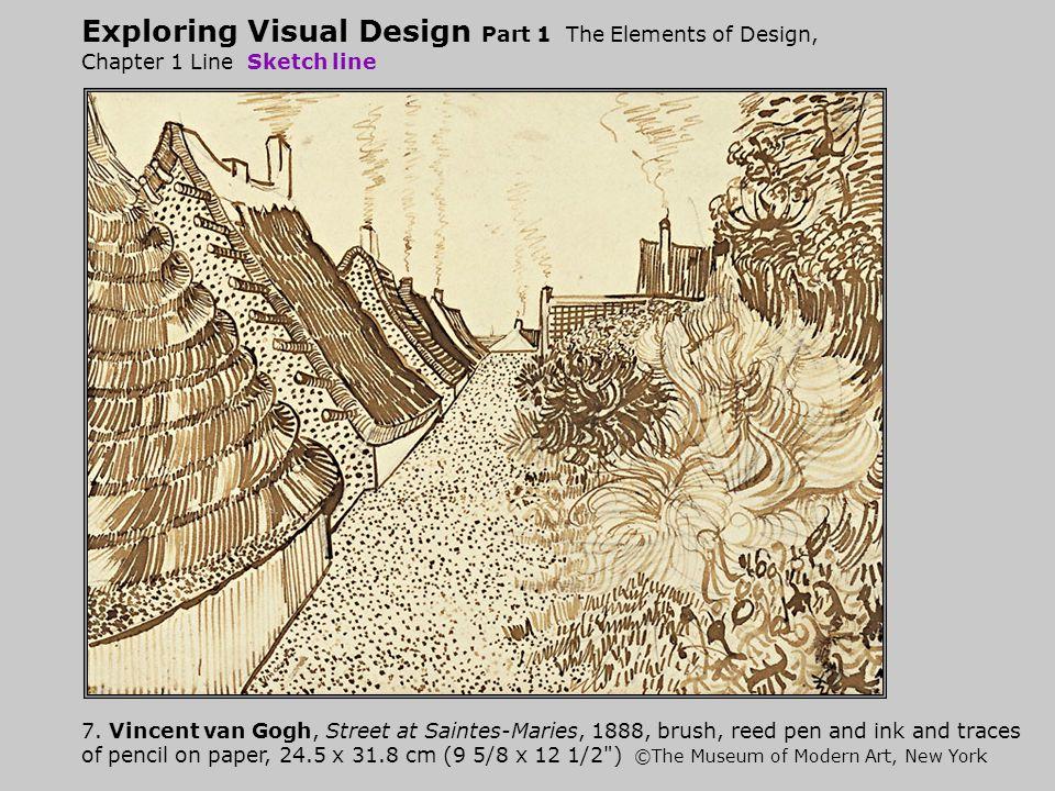 Exploring Visual Design Part 1 The Elements of Design, Chapter 1 Line Sketch line