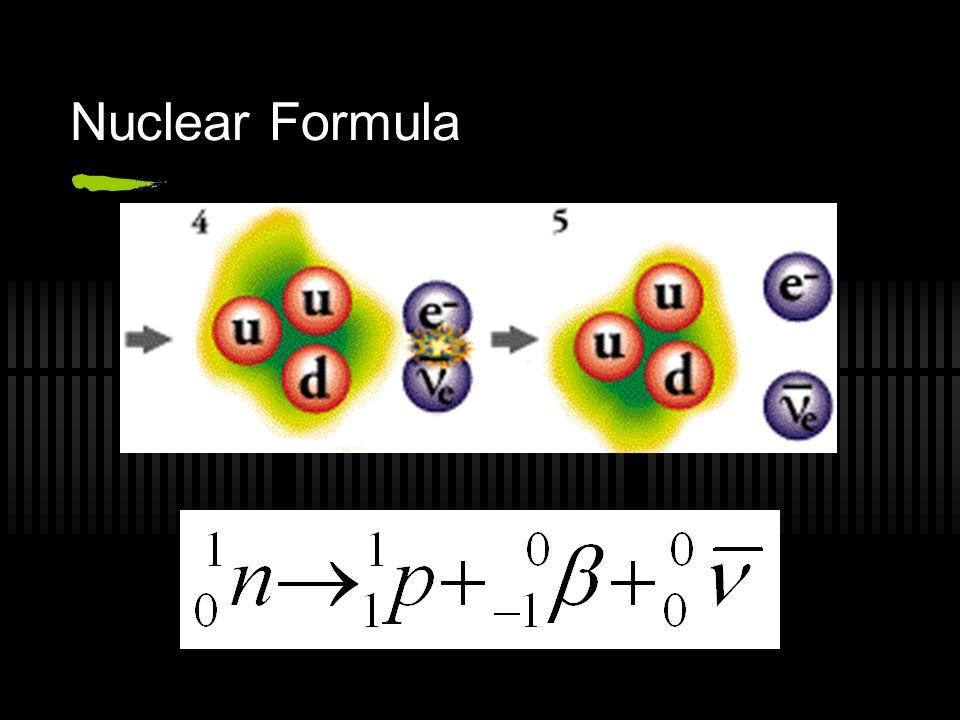 Nuclear Formula
