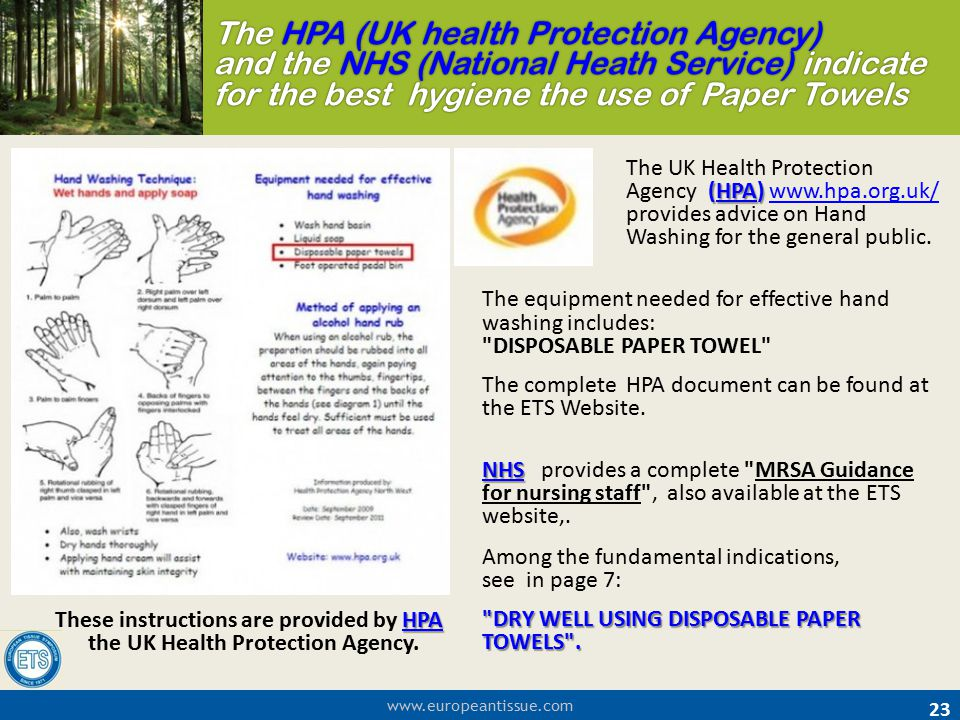 The HPA (UK health Protection Agency) and the NHS (National Heath Service) indicate for the best hygiene the use of Paper Towels