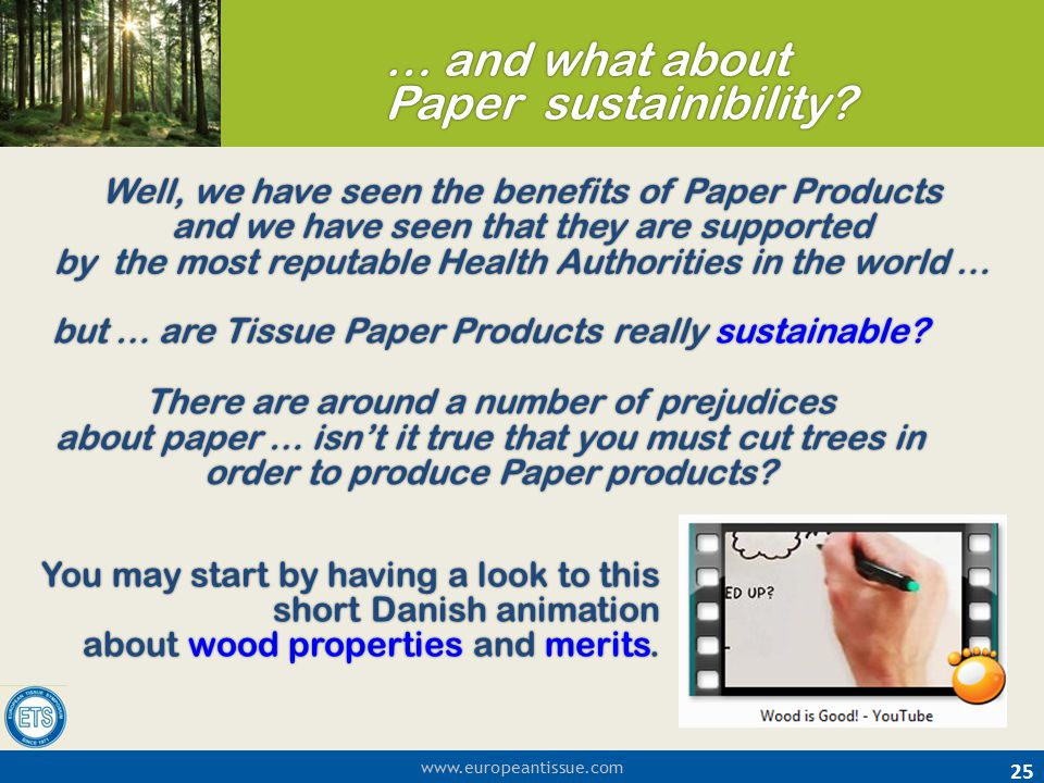 but … are Tissue Paper Products really sustainable