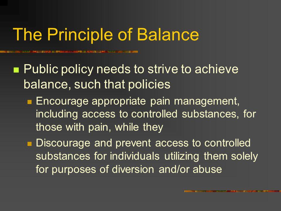 The Principle of Balance