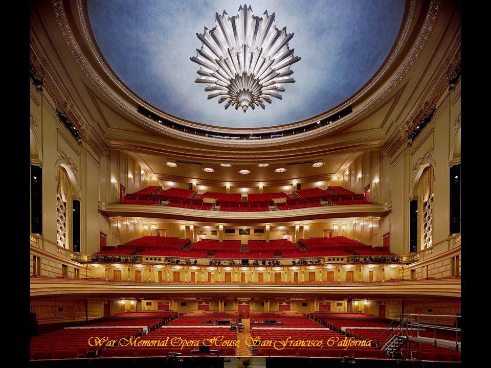 War Memorial Opera House, San Francisco, California