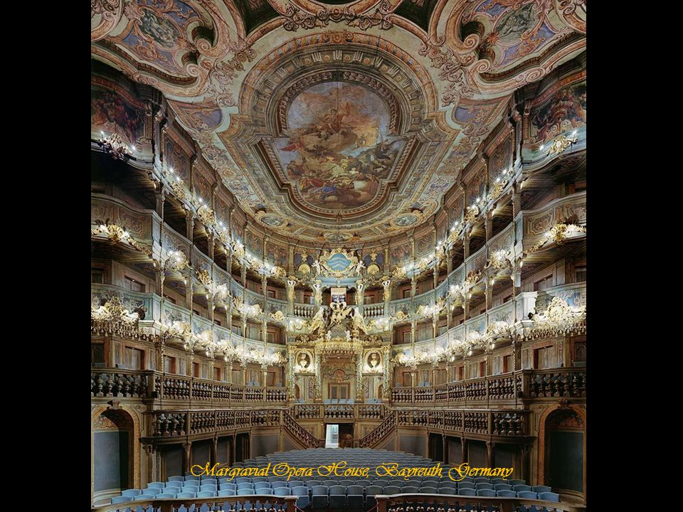 Margravial Opera House, Bayreuth, Germany