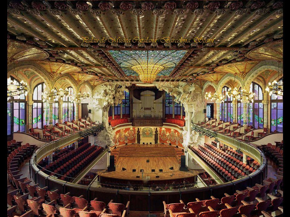 Palau de Musica Catalana, Barcelona, Spain