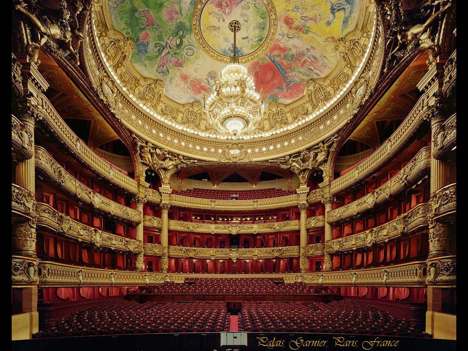 Palais, Garnier, Paris, France