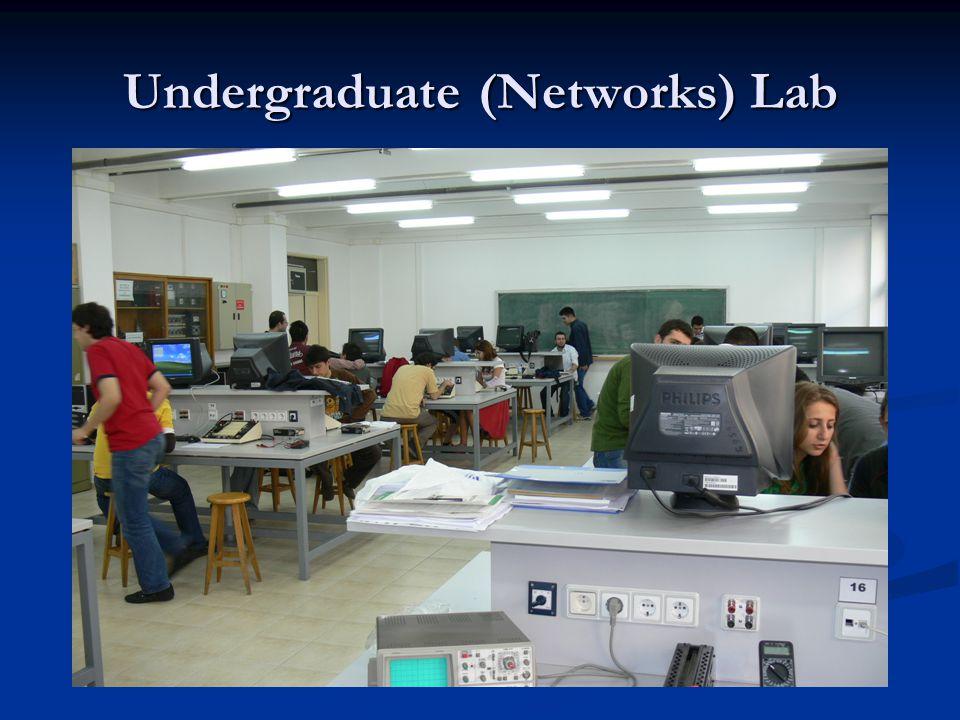 Undergraduate (Networks) Lab