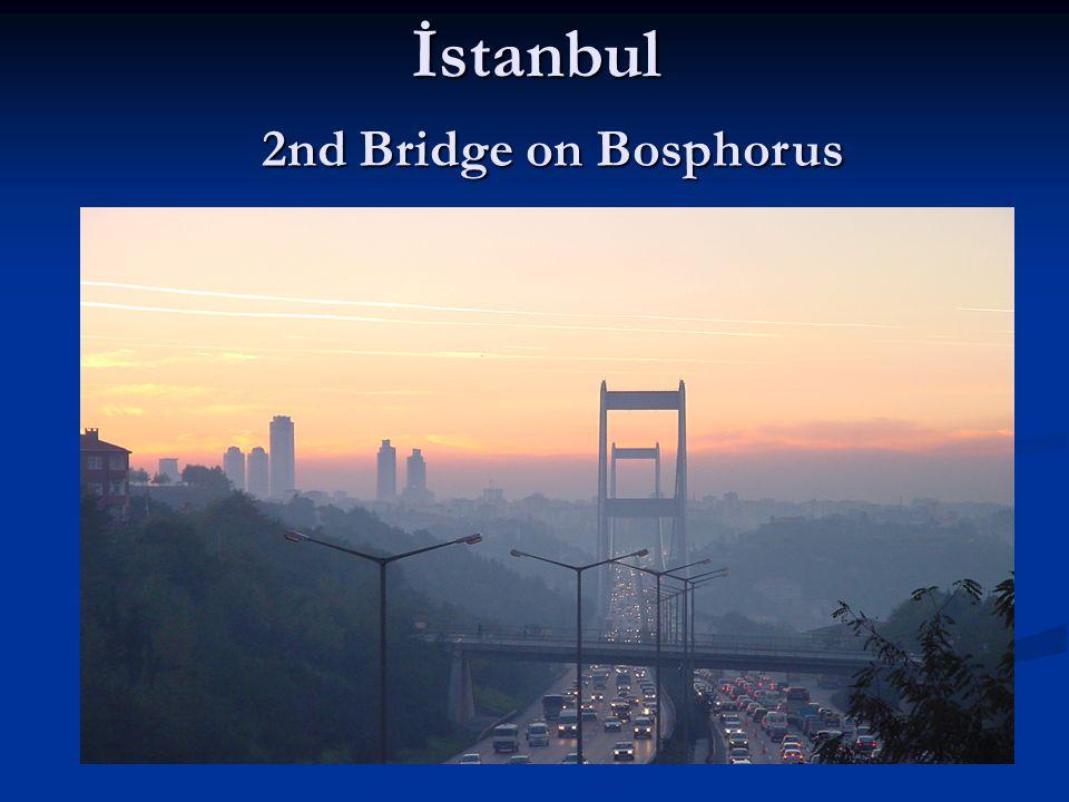 İstanbul 2nd Bridge on Bosphorus