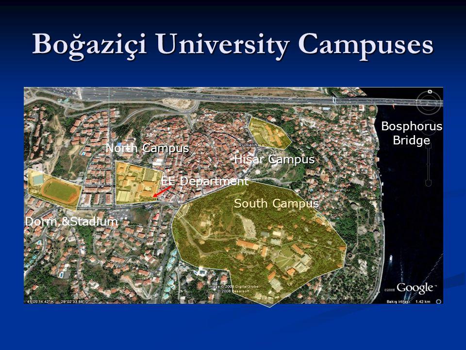 Boğaziçi University Campuses