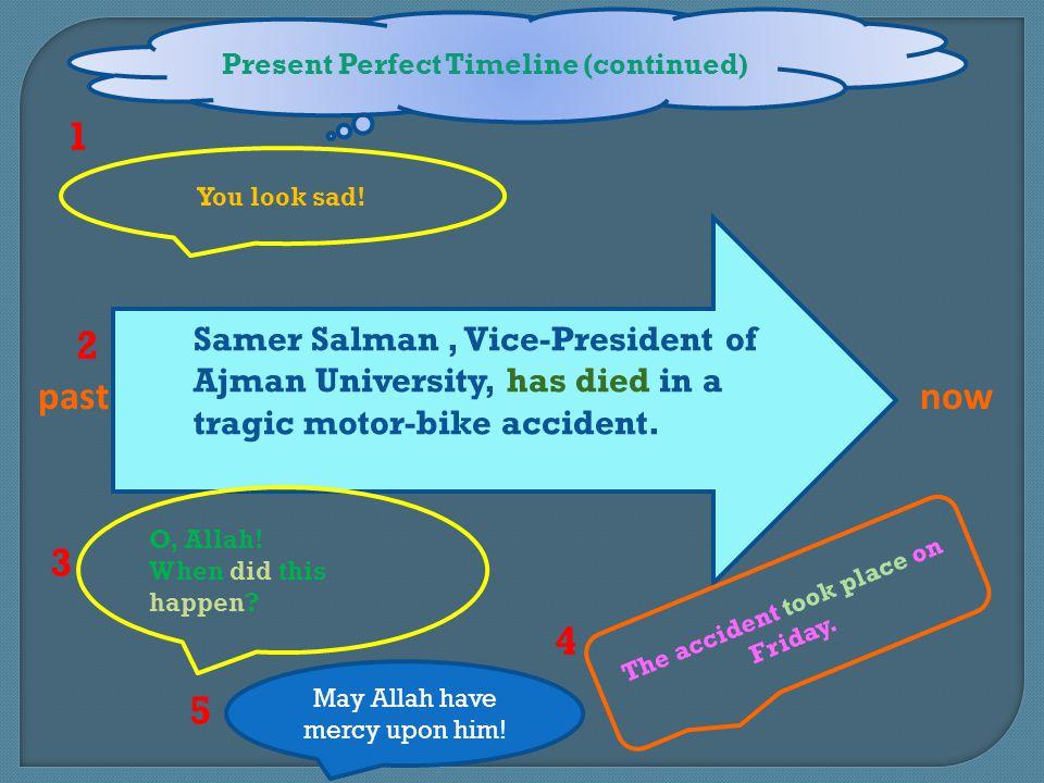 1 2 past now 3 4 5 Samer Salman , Vice-President of