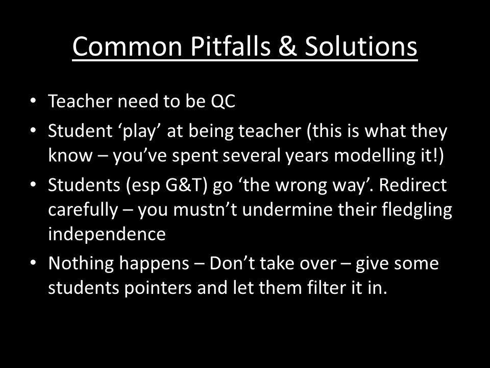 Common Pitfalls & Solutions