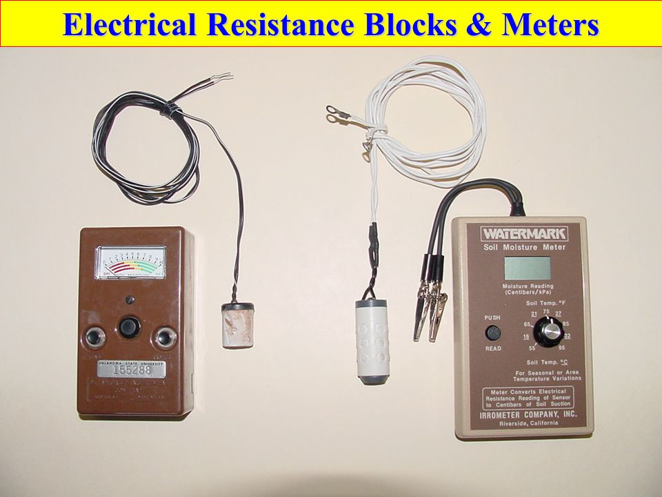 Electrical Resistance Blocks & Meters
