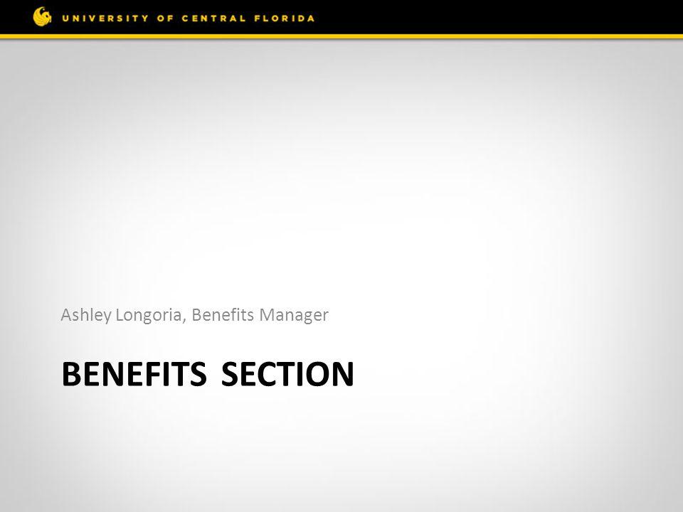 Ashley Longoria, Benefits Manager