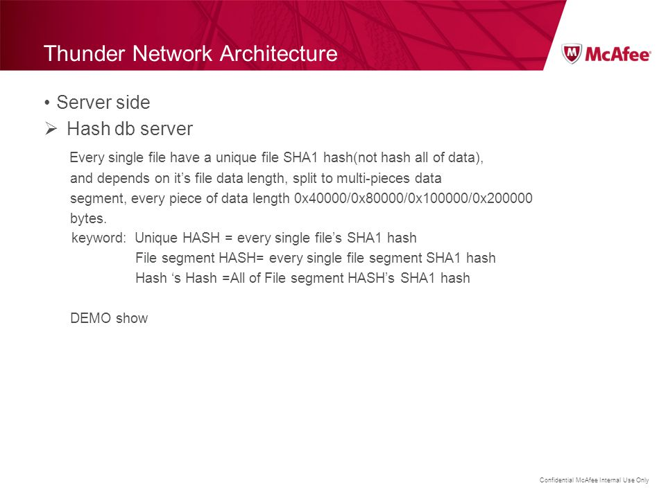 Thunder Network Architecture