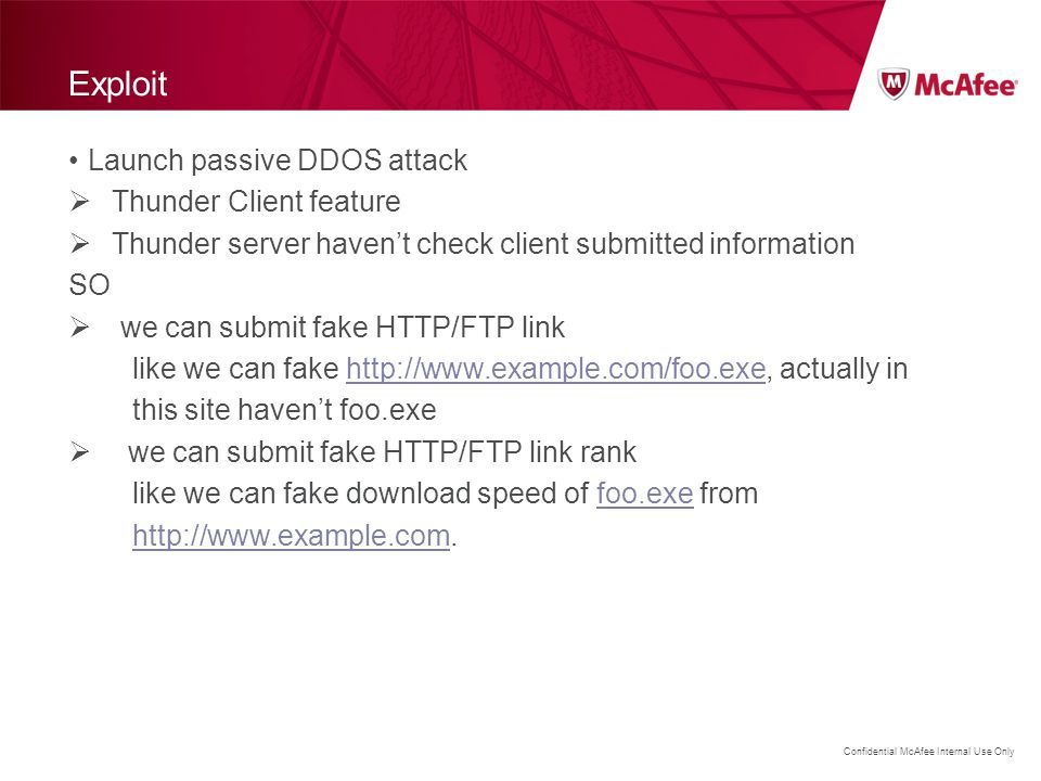 Exploit Launch passive DDOS attack Thunder Client feature