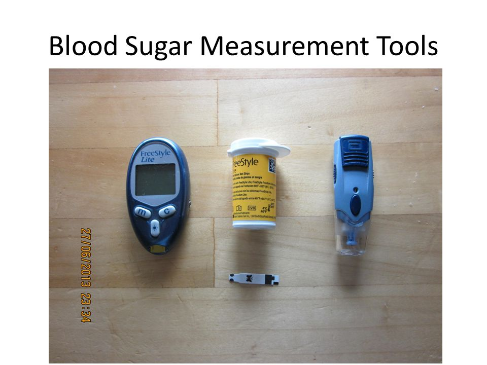 Blood Sugar Measurement Tools