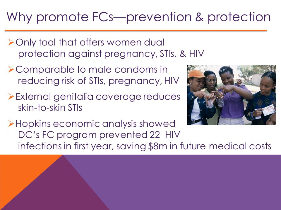 Why promote FCs—prevention & protection