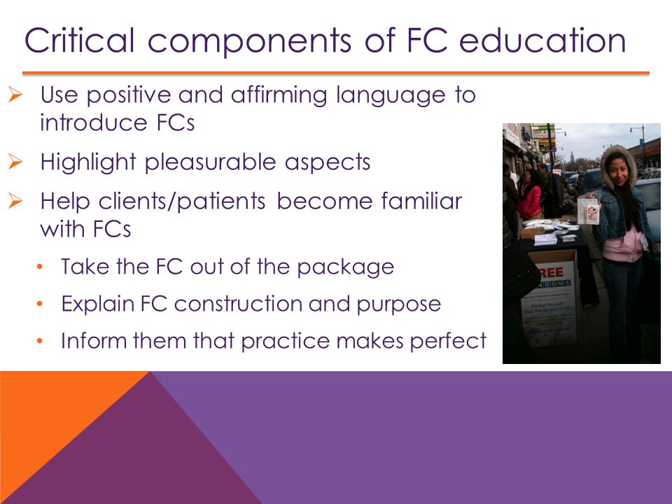 Critical components of FC education