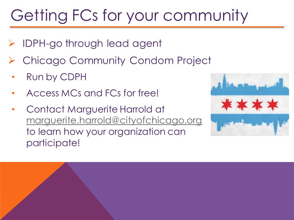 Getting FCs for your community