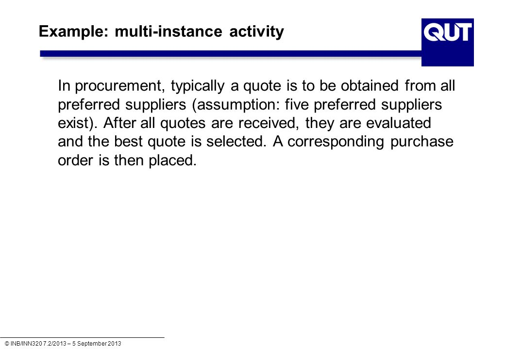 Example: multi-instance activity