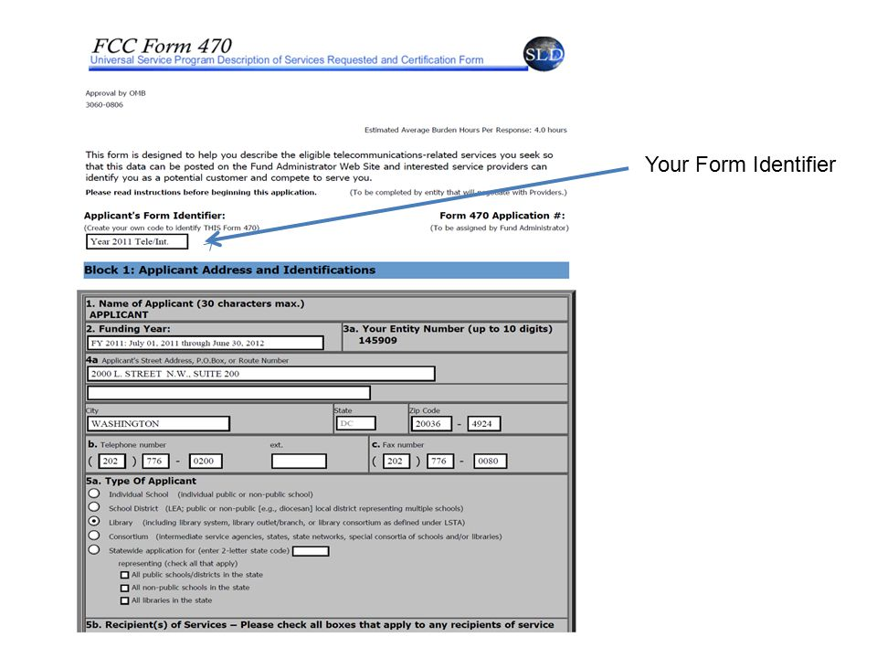 Your Form Identifier