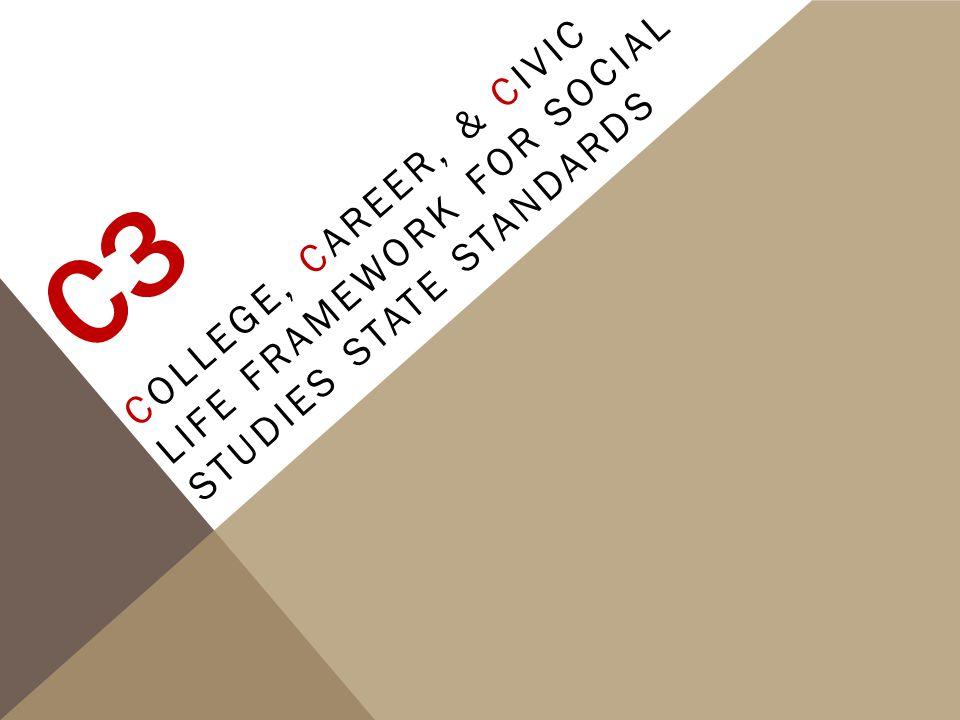 C3 College, Career, & Civic Life Framework for Social Studies State Standards