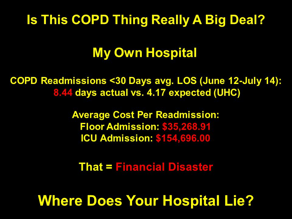 Is This COPD Thing Really A Big Deal