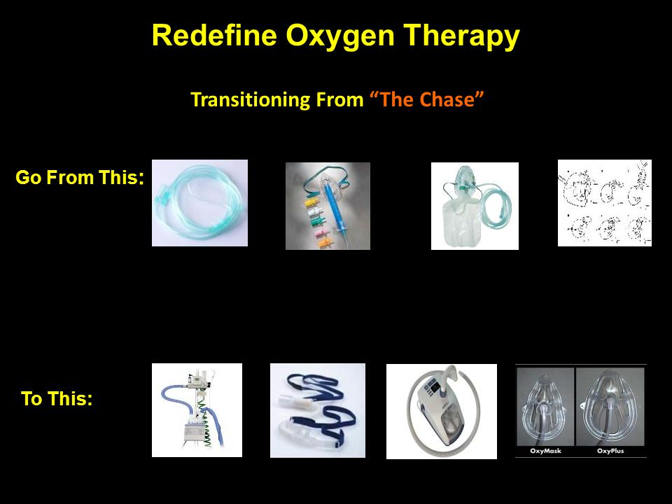 Redefine Oxygen Therapy