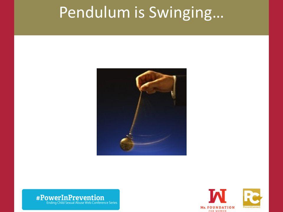 Pendulum is Swinging… Cordelia