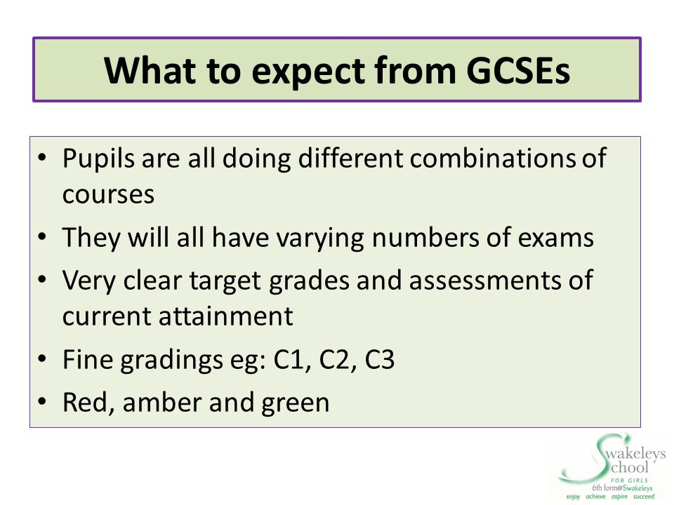 What to expect from GCSEs